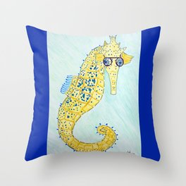 See Horse Throw Pillow