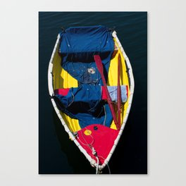 Monterey Skiff Canvas Print