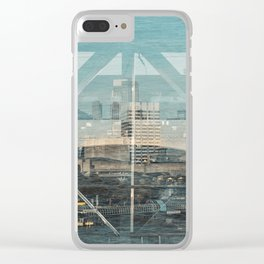 Layers of London 1 Clear iPhone Case