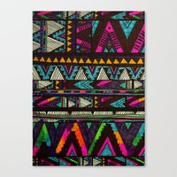 coasters Canvas Prints featuring ▲HUIPIL▲ by Kris Tate