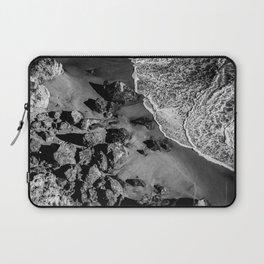 Ocean Waves on Rocks Laptop Sleeve