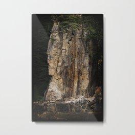 Indian Head Rock - Prince Rupert, BC Metal Print