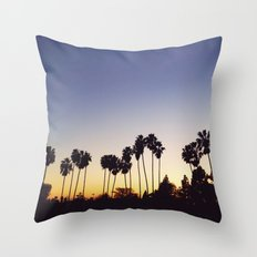 California Sunsets Throw Pillow