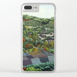 Pontypridd (featuring Sardis Road Rugby Ground) Clear iPhone Case