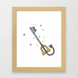 Sora's Keyblade Framed Art Print
