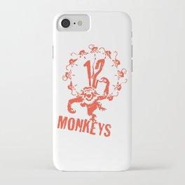 1 2 Monkeys Artwork Logo, Movies Designs For Prints, Posters, Tshirts, Bags, Men, Women, Kids iPhone Case