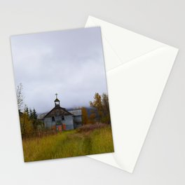 Abandoned Orphanage in Northwest Alaska Stationery Cards
