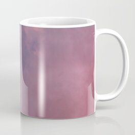 Crescent Moon and Pink Clouds Coffee Mug