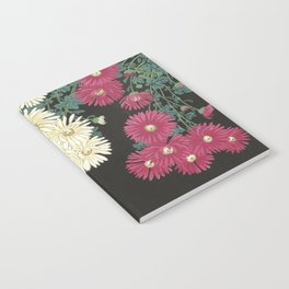 Chrysanthemums and Running Water Notebook