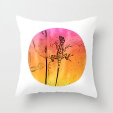 Abstract colors in everywhere Throw Pillow