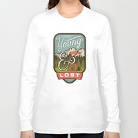 camp Long Sleeve T-shirts featuring Camp by Seaside Spirit
