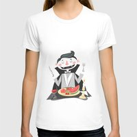 vegan T-shirts featuring Vegan Vampire by Ukko