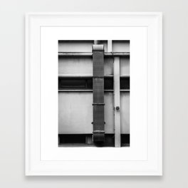 Chute on a Wall Framed Art Print