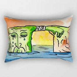 "#mymalta ""Ailing dwejra"" Rectangular Pillow"