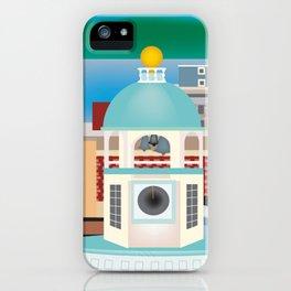 Halifax, Nova Scotia, Canada - Skyline Illustration by Loose Petals iPhone Case