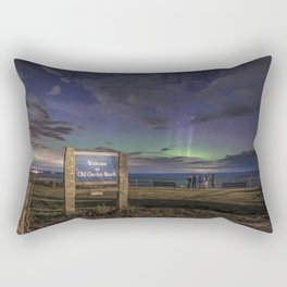 May Aurora at Old Garden Beach #2 Rectangular Pillow
