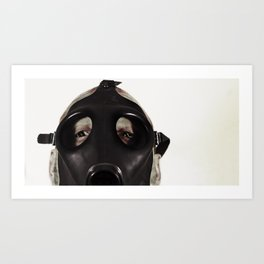 Mustard Gas Mechanic Art Print