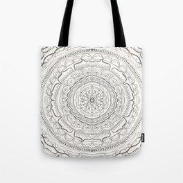 Black & White Lace Tote Bag