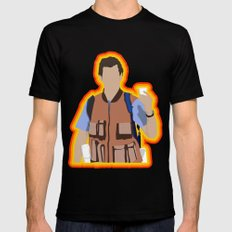 Bobby Boucher: Waterboy SMALL Mens Fitted Tee Black