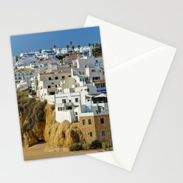 Albufeira old town, Portugal Stationery Cards
