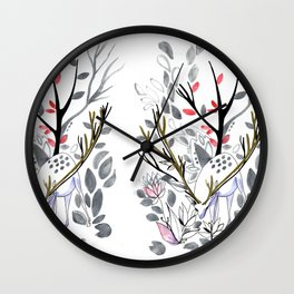 Dee of the winter Wall Clock