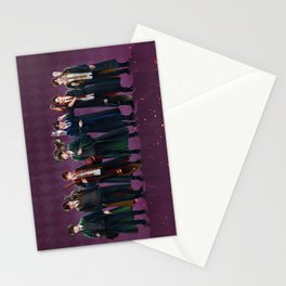 Infinite goes to Hogwarts Stationery Cards