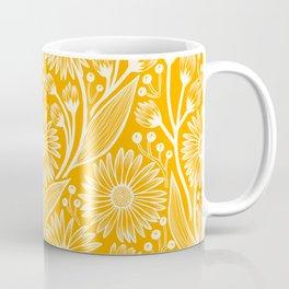 Saffron Coneflowers Coffee Mug