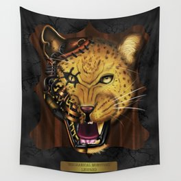 Mechanical Monsters revisited: Leopard  Wall Tapestry
