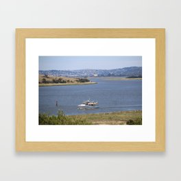 Getting Outta Town* Framed Art Print