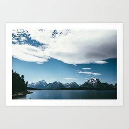 Jackson Hole Waters Art Print