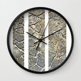 Cracks Wall Clock