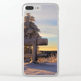 Ore Mountains, Saxony, Germany Clear iPhone Case