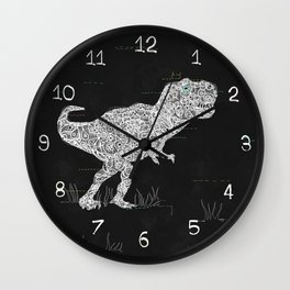 Lace Rex Wall Clock