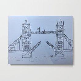 London Bridge Metal Print