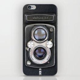 Vintage Camera Yashica 44 iPhone Skin