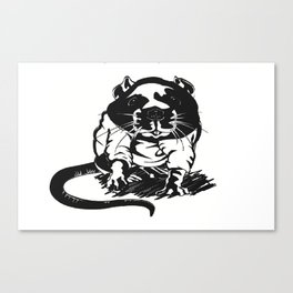 hood_rat Canvas Print
