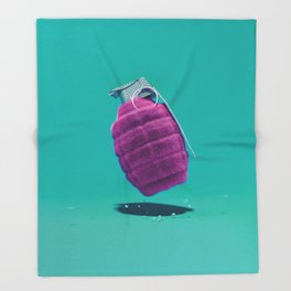 Smart Bomb Throw Blanket