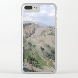Jackson Hole, Wyoming Clear iPhone Case