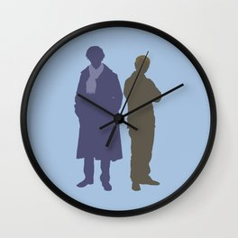 Sherlock&John Wall Clock