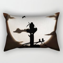 tower incident Rectangular Pillow