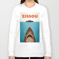 murray Long Sleeve T-shirts featuring Zissou by Wharton