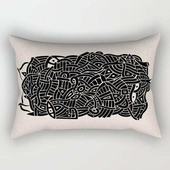 - nudity - Rectangular Pillow