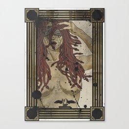 Medusa print Canvas Print