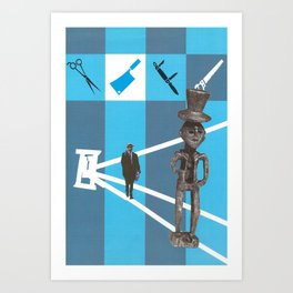 Cutting Work Art Print