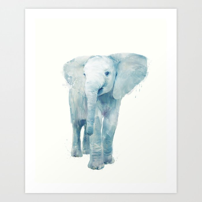 Discover the motif ELEPHANT by Amy Hamilton as a print at TOPPOSTER