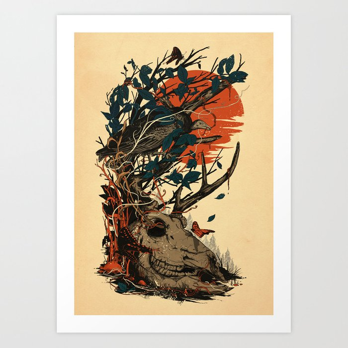 Dominate Art Print