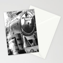 Vintage steam train Stationery Cards