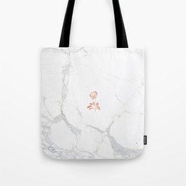 Forever Petal (White Rose) Tote Bag