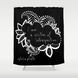 Victim of Introspection Shower Curtain