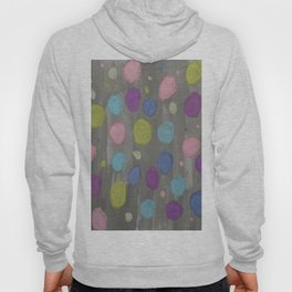 Pastel Bubbles Abstract Hoody